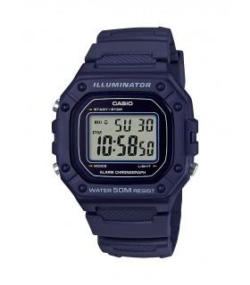 Reloj CASIO digital caballero W-218h-2av
