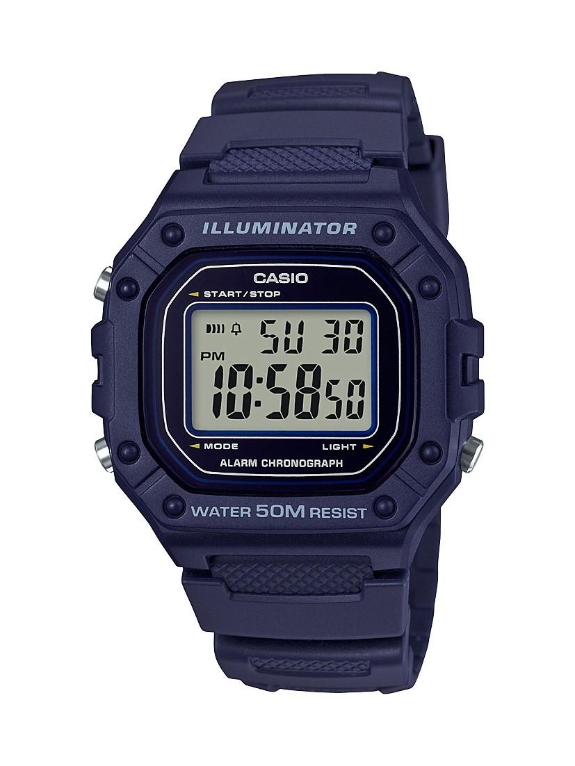 ce4b7d367bcd Reloj CASIO digital caballero W-218h-2av - WWW.DVDBARATO.ES CIF  B54706957