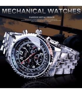 reloj hombre automático deportivo Jaragar acero