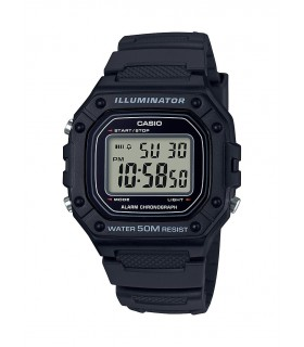 Reloj CASIO digital caballero W-218h-1av CASIO watch men
