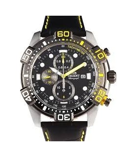 reloj hombre deportivo Orient sports military FTT16005B watch correa piel