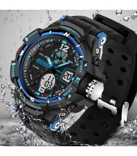 Reloj Deportivo Reloj hombre deportivo AZUL G-Tipo