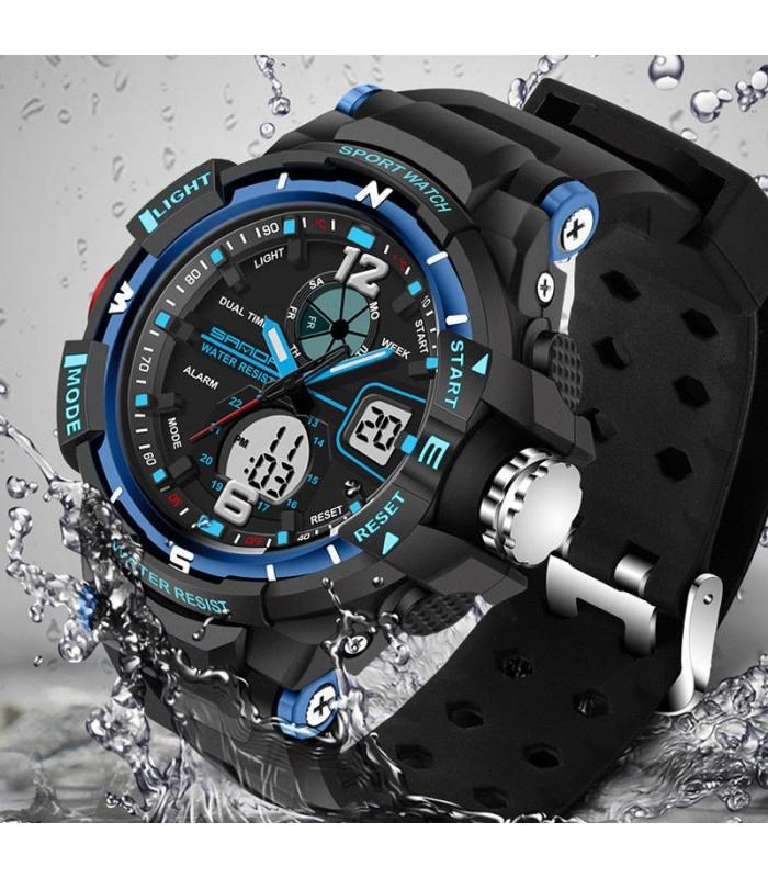 08047448cf64 Reloj Deportivo Reloj hombre deportivo AZUL G-Tipo - WWW.DVDBARATO ...