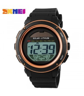 reloj hombre SOLAR digital solar powered men's sport digital watch