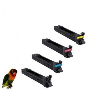 4 toner para Sharp MX-C38 GTB  compatibles Sharp MX-C310, MX-C311, MX-C312, MX-C380, MX-C400, MX-C401