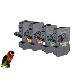 4 Toner compatibles TK-5240 para Kyocera Ecosys M5526 P5026