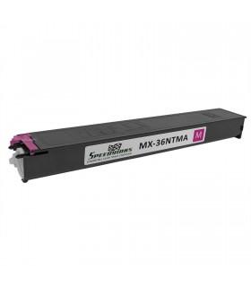 Toner compatible MAGENTA con Sharp MX-2610 MX-2640 MX-3110 MX-3115 MX-3140 MX-3600 MX-3610 MX-3640