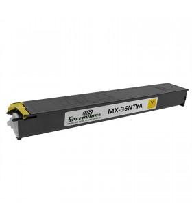 Toner compatible AMARILLO con Sharp MX-2610 MX-2640 MX-3110 MX-3115 MX-3140 MX-3600 MX-3610 MX-3640