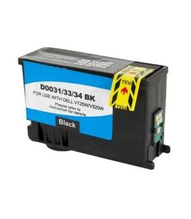 Tinta compatible Negro para Dell 31BK V525w V725w