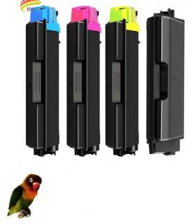 4 Toner compatibles con Kyocera TASKalfa 356 TK-5205