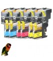 10 tintas compatibles Brother LC22E Brother MFCJ5920DW