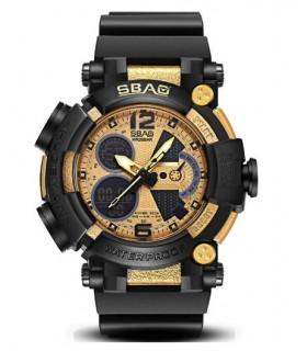 Reloj hombre SBAO Shock Resist Alarm 57mm Display Luminoso