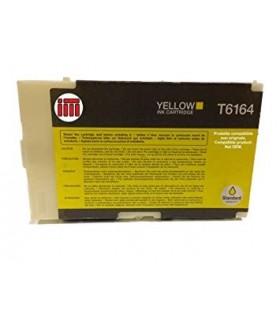 Tinta AMARILLO compatible T6164 para Epson B300 / B310 N / B500 DN / B510 DN