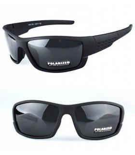 Gafas de sol Polarizadas Deportivas , ciclismo negras caballero