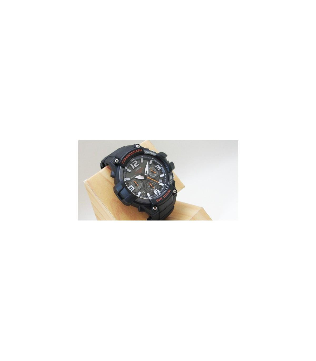 Mcw 100m Casio 100h Caballero Crono Reloj 1av clF1JK