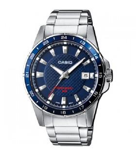 Reloj casio - original - MTP-1290D-2AVEF acero inoxidable - japan movement