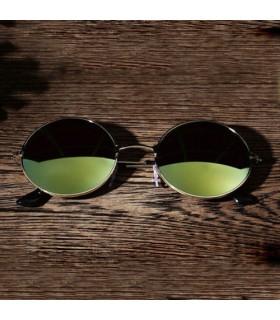 Gafas de sol retro redondas cristal polarizado