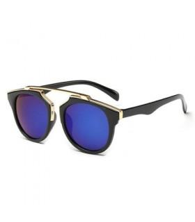 Gafas de sol Montura Metálica polarizadas mujer espejo azul