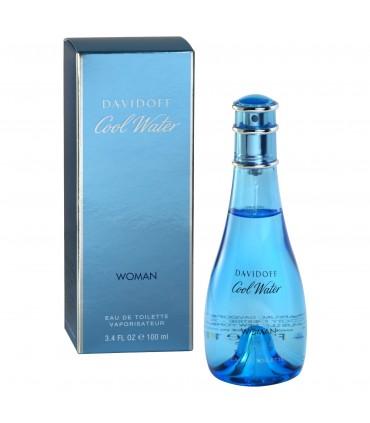 Cool water woman eau de toilette vaporizador 100 ml - DAVIDOFF