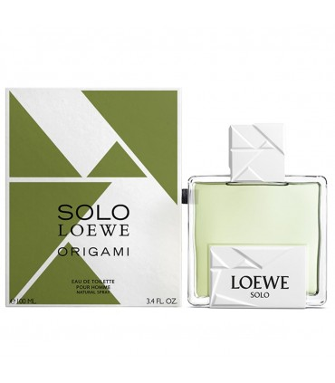 Solo Loewe Origami eau de toilette  100 ml  LOEWE men 34.oz