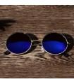 Gafas de Sol Flip  Redonda cristal espejo Retro