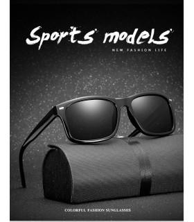 Gafas de sol Polarizadas UV400 color negra deportivas