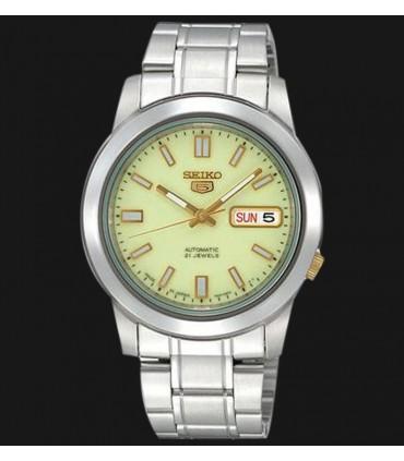 Reloj hombre automático Seiko SNKK19K1 serie Seiko 5 acero