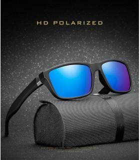 Gafas de sol Polarizadas negra y azul electrico UV400