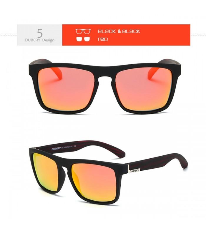 Gafas polarizadas DUBERY sport cristal tono naranja