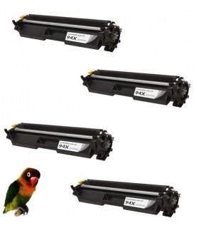 4 Toner compatibles CF294X 94X para HP LASERJET PRO M118 MFP M140 M148
