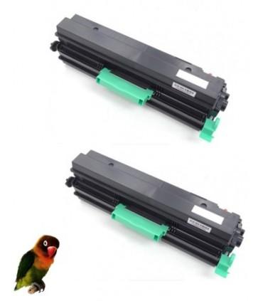 2 Toner compatible RICOH AFICIO SP6410/SP6420/SP6430/SP6440/SP6450 NEGRO  407510/SP 6430