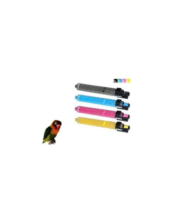 4 Toner compatibles con Ricoh MP-C407
