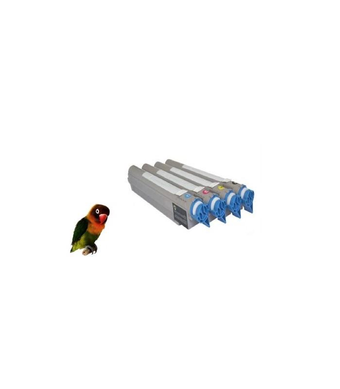 4 Toner compatibles para OKI EXECUTIVE ES9410 / ES9420