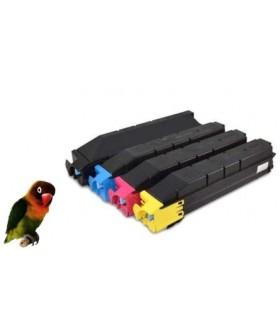 4 Toner compatibles para Kyocera TASKalfa 406 ci TK-5215