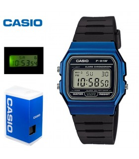 Reloj Casio retro digital F-91WM-2A UNISEX