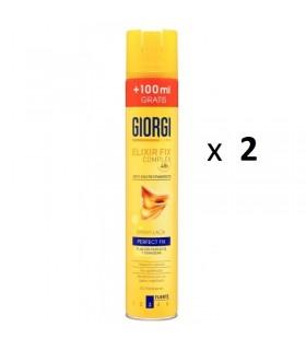 Pack de 2 GIORGI LACA 400 100ML FIJACION FUERTE 400ml