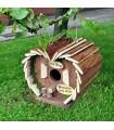 Nido casa de pajaro de madera decoracion jardin Bird Hotel decohome BIRD