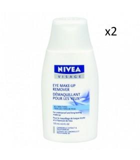 NIVEA VISAGE desmaquillante de ojos 125ml nivea visage pack 2