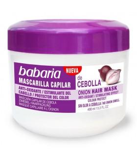 Mascarilla cebolla Capilar Antioxidante 400ml - BABARIA