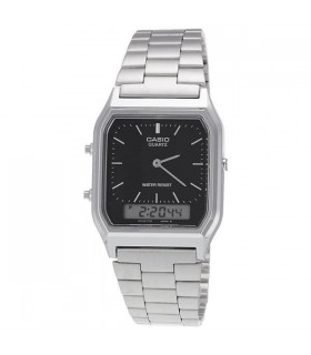 Reloj Casio COLLECTION AQ-230A-1D analogico y digital