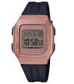 Reloj unisex Casio F201WAM-5A alarmas crono 34mm