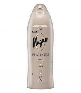 Gel de ducha MAGNO platinum 550ml - LA TOJA