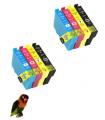 8 Tintas compatibles con 603XL Epson Expression Home XP-2100 XP-2105 XP-3100
