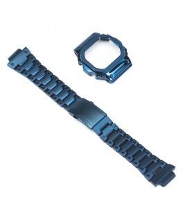 Estuche Set correas y bisel para RELOJ CASIO DW5600 GW-M5610 Metal