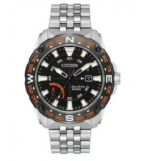 Reloj Hombre Citizen Eco-Drive Men's PRT AW7048-51E brújula 44mm