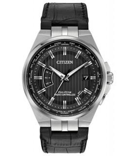 Reloj Hombre Radiocontrol Citizen Eco-Drive CB0160-00E Men's A-T World Time Perpetual Calendar 42mm Watch CB0160-00E