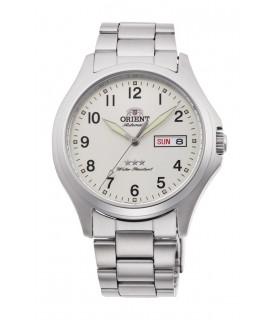 Reloj Automático Hombre Orient Tristar RA-AB0F15S 40mm acero dial blanco
