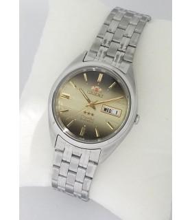 Reloj Automático Hombre Orient 3 Star FAB0000DU correa acero