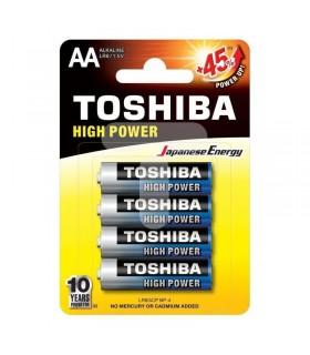 PILAS TOSHIBA blister 4 pilas alcalinas lr6 (aa)