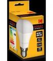 Bombilla LED KODAK - G45 E14 6W 480 lumens pequeña